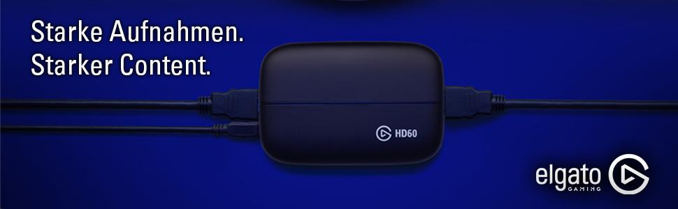 Elgato Gaming Capture Card HD60