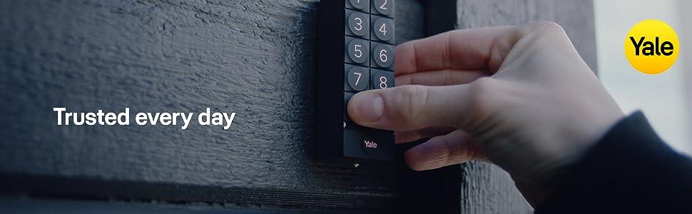 Yale 05/301000/BL - Smart Keypad - Negro - Teclado numérico digital para Yale Smart Locks