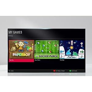 TV-integrierte Spiele – für mehr Unterhaltung