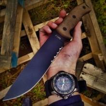 rat 7 okc ontario knife company fixed blade