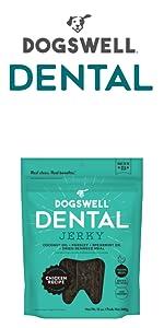 dental teeth health breath clean parsley spearmint seaweed jerky dentist freshens chicken protein