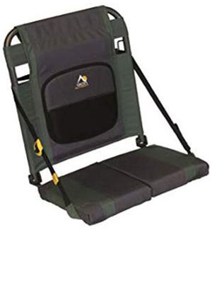 GCI Outdoor SitBacker Adjustable Canoe Seat, Hunter
