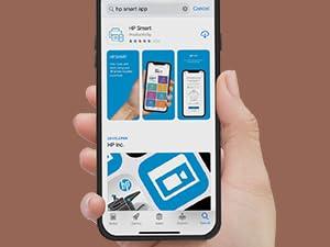hp smart app mobile printer print