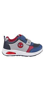 Zapatillas con luces de Spiderman