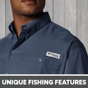 unique fishing features