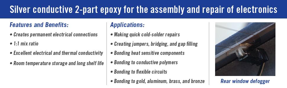 mg chemicals 8331 silver epoxy adhesive high conductivity 10 min rh amazon com