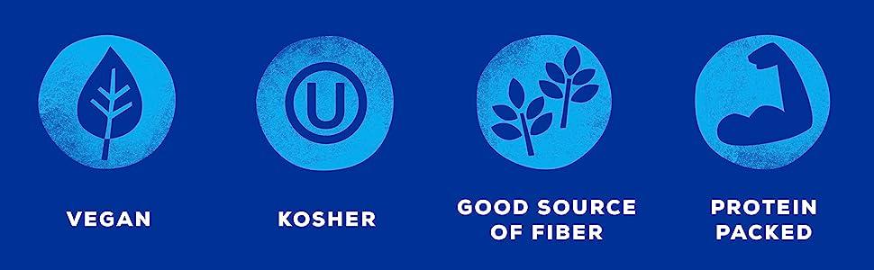 Dry Beans Vegan Kosher Good Source of Fiber Protein Packed