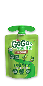 GoGo squeeZ Organic Fruit on the Go
