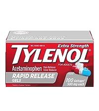Tylenol Rapid Release, gelcaps, liquid gel, liquigel, tylenol