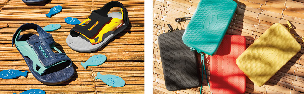 sandals and accessories