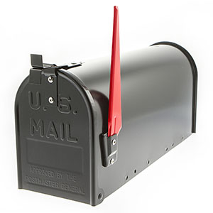 US stalen brievenbus