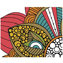Portable coloring, Relaxing activity, Small coloring books for adults, Stress relief coloring