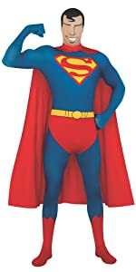 superman bodysuit, body suit, superman costume