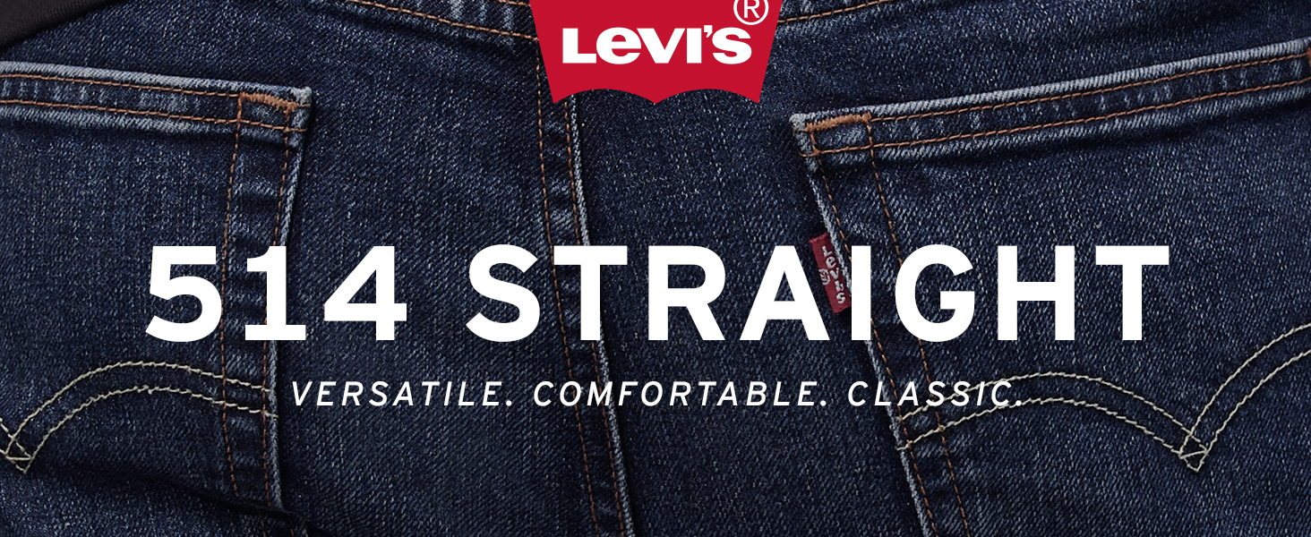 Mens Levis 514 Straight Jean