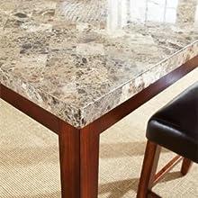 Amazon Com Steve Silver Company Montibello Counter Chair