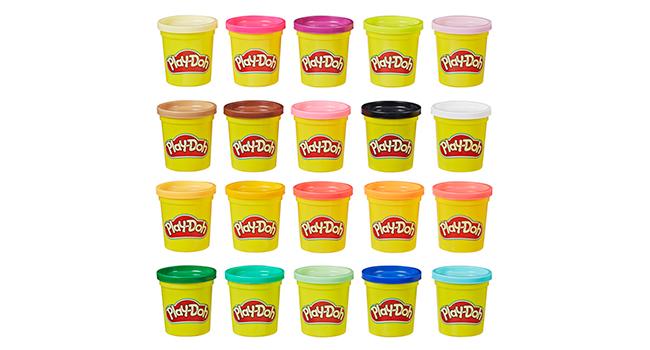 20 Play-Doh Colours for Creative Fun