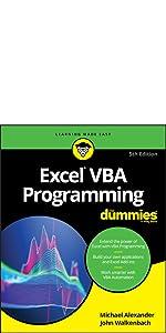 excel 2019, excel vba, excel programming, dummies