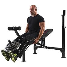 Marcy Banco de Musculación Eclipse BE5000: Amazon.es: Deportes y ...
