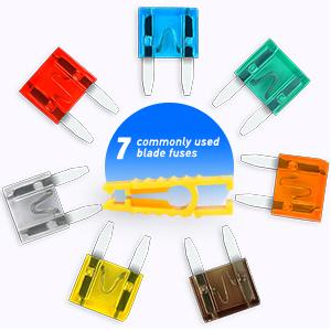 Hoja de 6 Vías Caja de Fusible /& Tornillo En Portada 12v//24v Automotriz /& Marina compatible