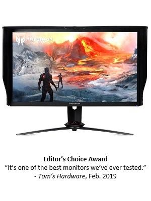 144Hz HDMI 2xHDMI 2.0 69 cm Bildschirm Predator XB273UGS Gaming Monitor 27 Zoll DP 1.4 WQHD drehbar AdaptiveSync G2G h/öhenverstellbar Fast LC 1ms 165Hz DP GSync Compatible