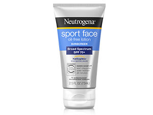 Neutrogena Sport Face oil-free lotion with sunscreen