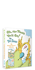 OH, THE PLACES YOU'LL GO! THE READ IT! WRITE IT! COLLECTION baby books graduation decorations