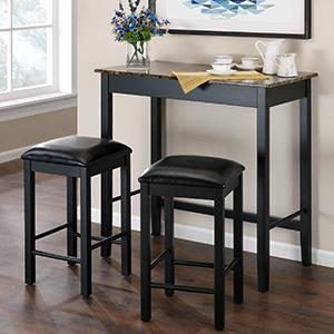 Dorel-Living-Bistro-Table-Set-Devyn-3PC-Pub-Set