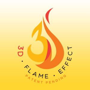 Realistic 3D Flame Effect