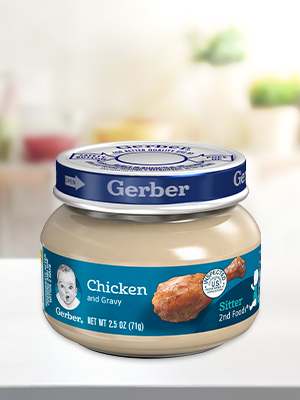 Gerber 2nd Foods Meats and Poultry Purees are among the best food sources of zinc for babies.