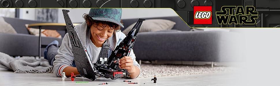 LEGO Starwars Shuttle(tm) di Kylo Ren Set di Costruzioni per Viaggiare nella Galassia con Questo Shuttle Ricco di Dettagli, per Ragazzi di +10 Anni,