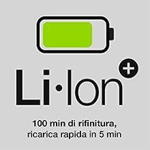 Batteria di lunga durata agli ioni di litio