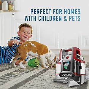 pets kid children child mess clean easy