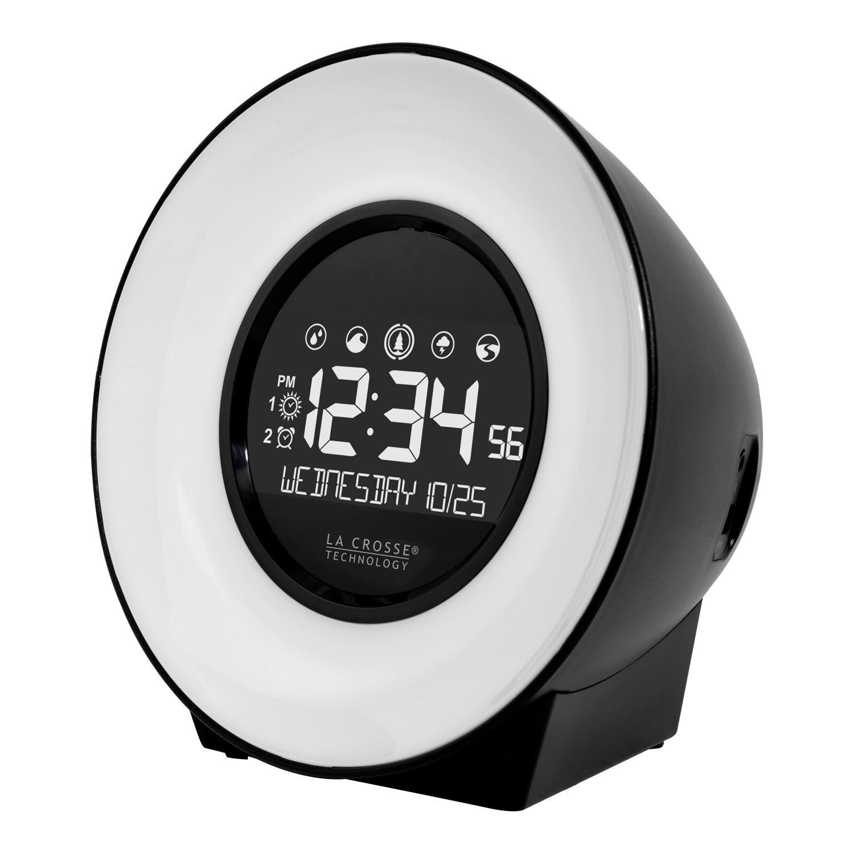 lacrosse, la crosse technology, C85135, mood light, alarm, time, bedside