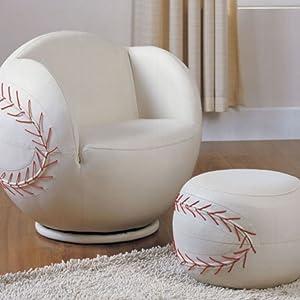 Chair & Ottoman Baseball