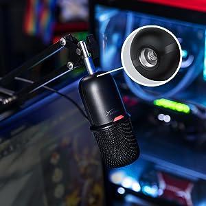 Micrófono USB fácil de usar para streamers y creadores de contenido.