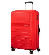 sunside;suitcase tsa; suitcase; large suitcase; big suitcase; hard suitcase