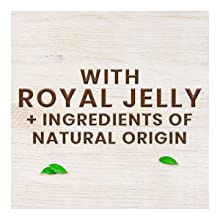 royal jelly + ingredients of natural origin