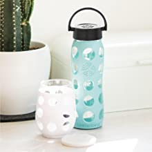Lifefactory Glass Hydration Bottles