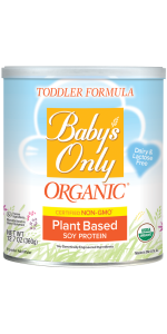 Baby S Only Soy Protein Toddler Formula Non Gmo Usda