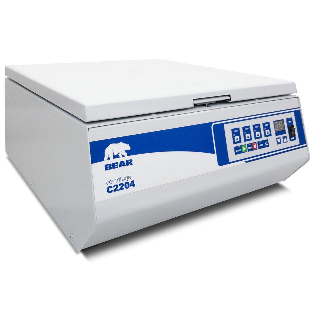 BEAR C2204 Swing-Out Benchtop Centrifuge with 12x12ml Rotor Included