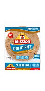 Mission Carb Balance Fajita Whole Wheat Tortillas