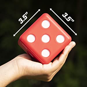 Giant Dice, Dice, Outdoor Games, Lawn Games, Giant Games, Backyard Games, Foam Dice, Party Games