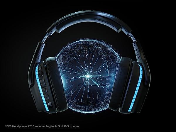 Logitech G935 Wireless DTS:X 7 1 Surround Sound LIGHTSYNC