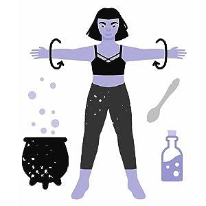 basic witches, Jaya Saxena, Jess Zimmerman, inspirational, motivational, witch, gift, feminist
