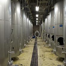 醸造設備の徹底した衛生管理
