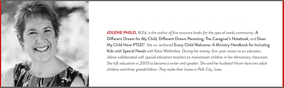 Jolene Philo,special needs,different dream parenting,every child welcome,5 love languages,family