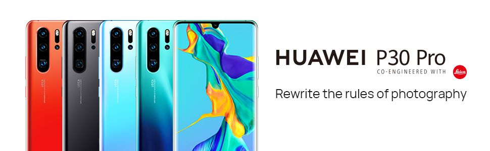 huawei p30 pro smartphone with quad camera