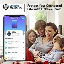 linksys shield