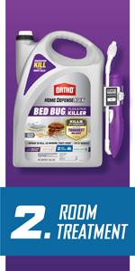Ortho Home Defense MAX Bed Bug, Flea amp; Tick Killer 2 Comfort Wand