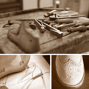 tools, brogue, wingtip, shoe making
